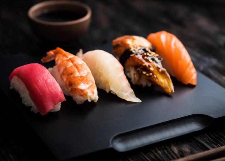 高級店からリーズナブル&エンターテインメントなお店まで人気の「お寿司」