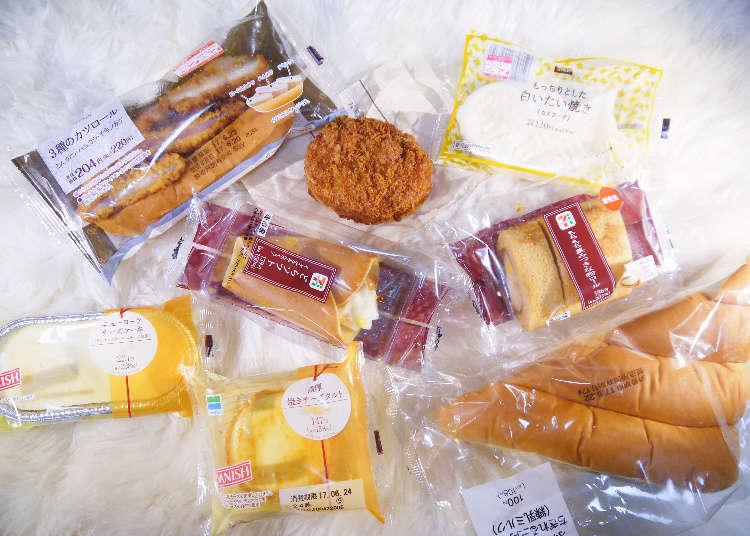 日本三大便利商店6月份新商品試吃大評比!