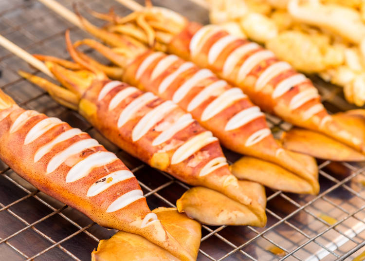 #5. Seafood BBQ - Kaisen yaki