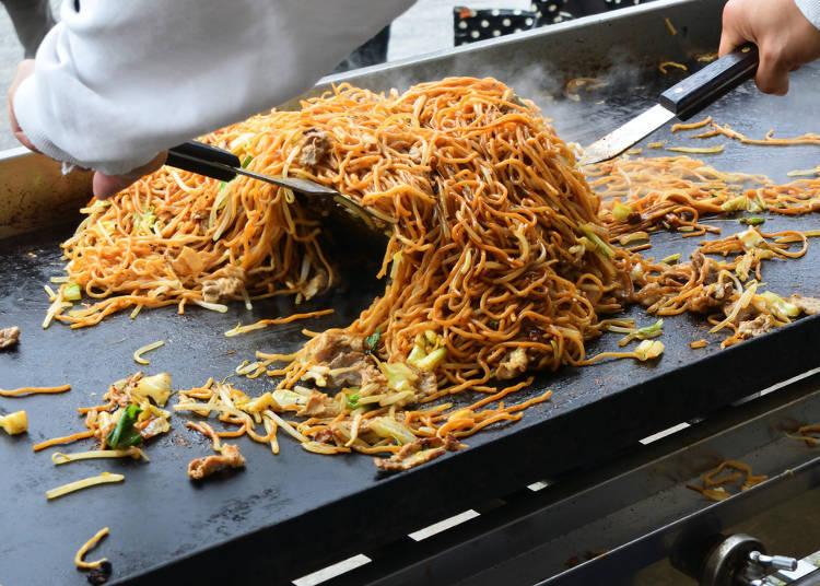 #3. Fried Noodles - Yakisoba