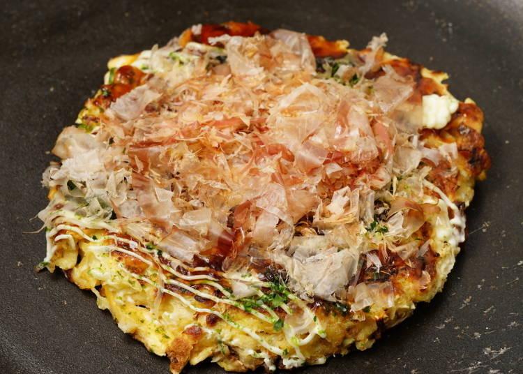 #2. Japanese Pancake - Okonomiyaki