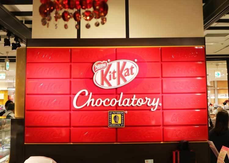 「KITKAT Chocolatory」Special assort 東京限定原創設計