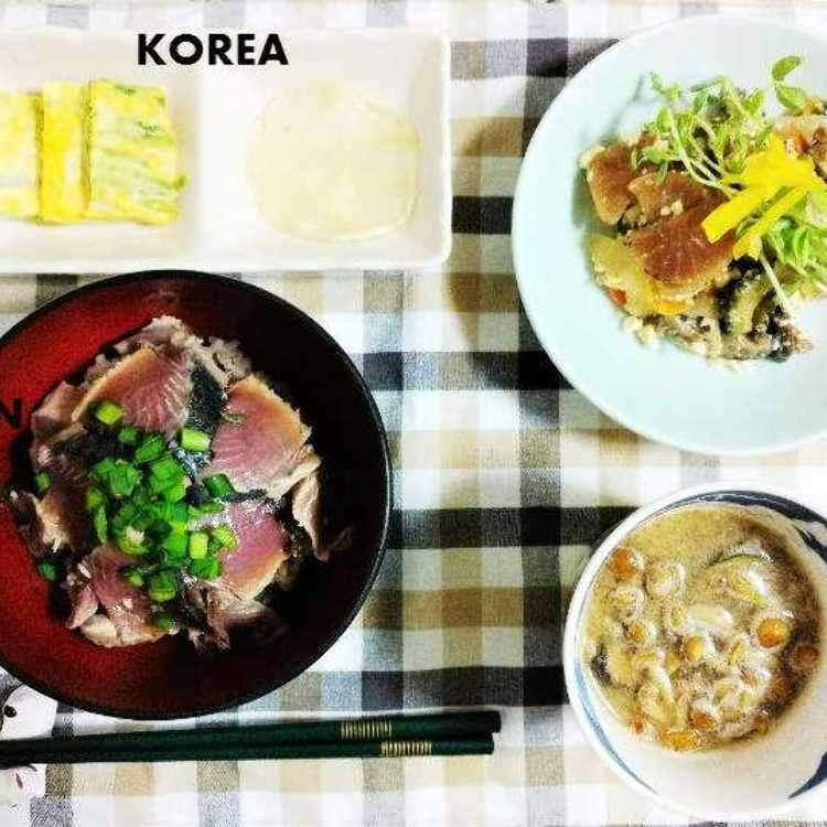 일본생활 10년차 -일본인 남편과 함께 만드는 1주일간의 저녁메뉴