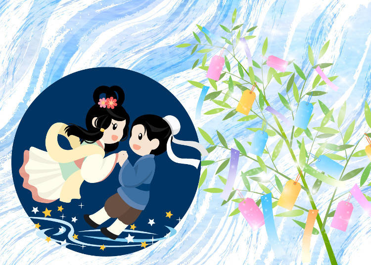 Orihime and Hikoboshi - The Story Behind Tanabata