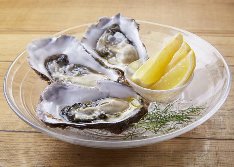 "The Must-Tries at Kita no Kuni Bar: ""Maruemon"" Oysters and the ""Hokkaido Meat Plate"""