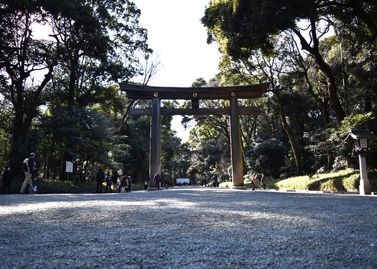 3) Cleanse Yourself before Prayer at the Temizuya