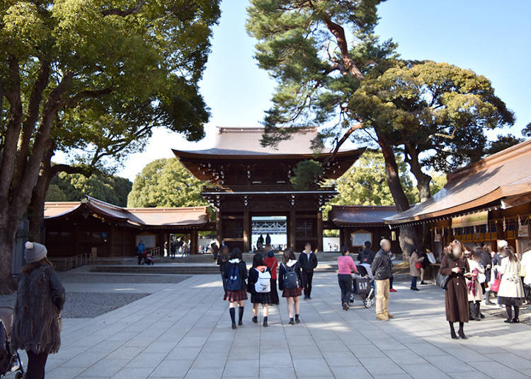 4) Praying at a Shinto Shrine: Bow Twice, Clap Twice, Bow Once