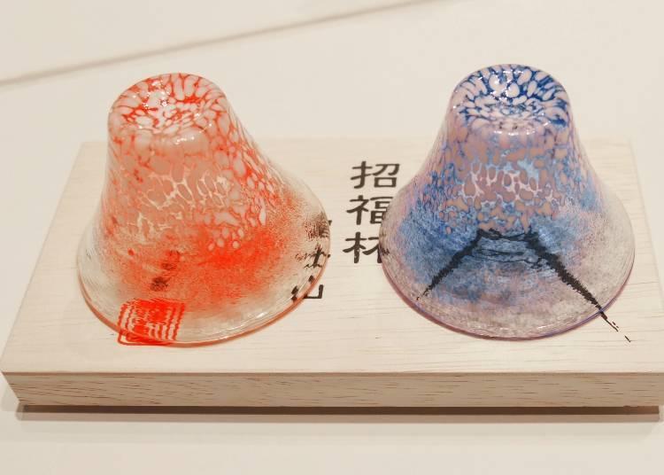 """เซ็ทแก้วทรงภูเขาไฟฟูจิ """"Shofuku hai Fujisan"""""""