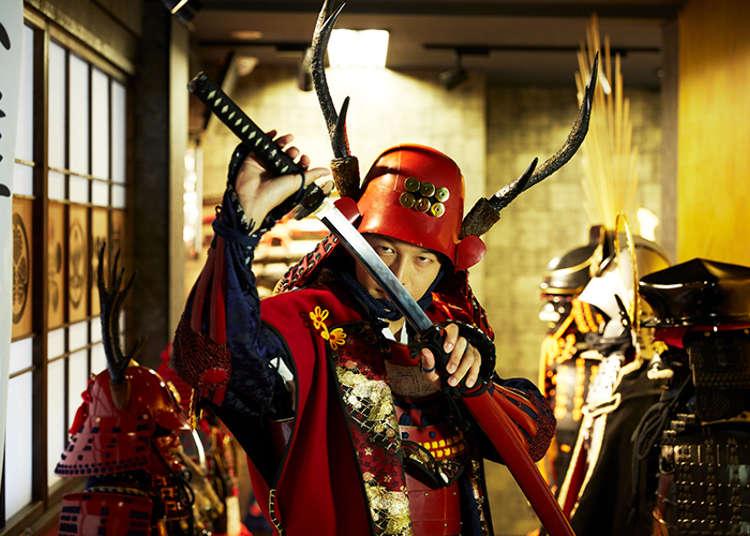 【武将に変身】戦国居酒屋で舌つづみ!外国人もよろこぶ新宿サムライ体験 | 東京執事物語