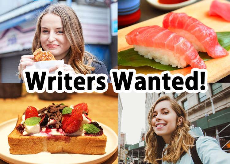 English Writers Wanted!