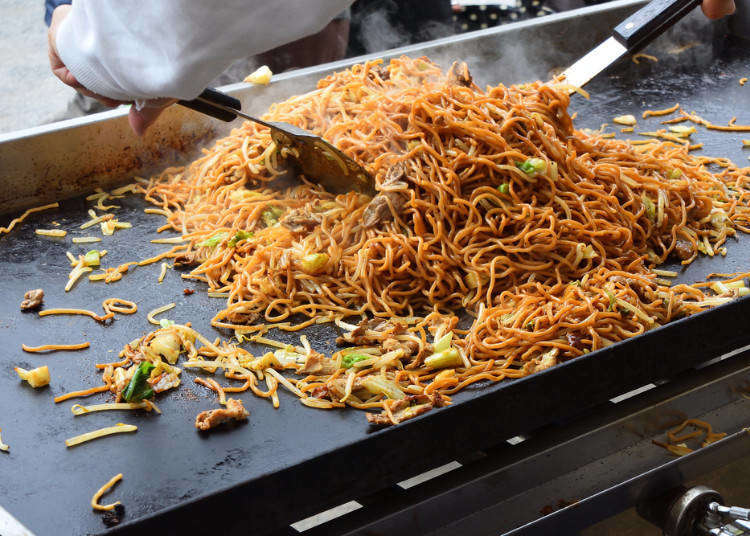 일본의 마츠리 축제, 불꽃놀이에 빠지면 섭섭한 야타이(포장마차) 음식! 인기순위조사!