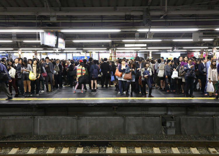 일본 전철, 지하철 탈때 주의점 5가지(도쿄 지하철 노선도, 도쿄 JR 노선도 한글 정보 포함)