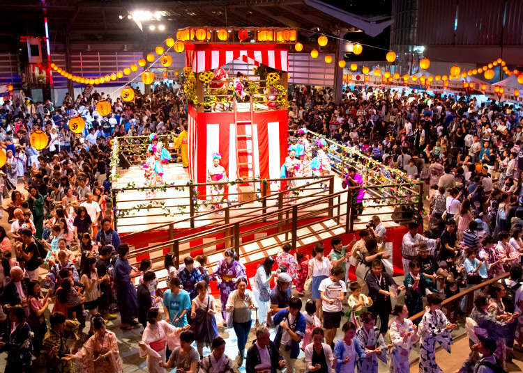 [2017] Bon Odori Dance Festivals in and around Tokyo: Dancing in the Summer Heat