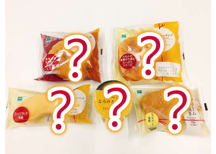 日本便利商店FAMILYMART上半年度前五大暢銷甜點