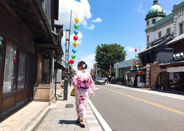 Rent a Yukata – the Most Authentic Way to Enjoy Kawagoe!