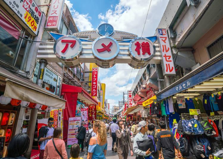 「上野车站」特色与周边饭店清单