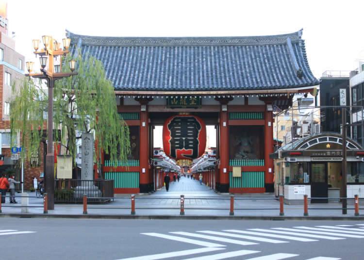 「淺草車站」特色與周邊飯店清單