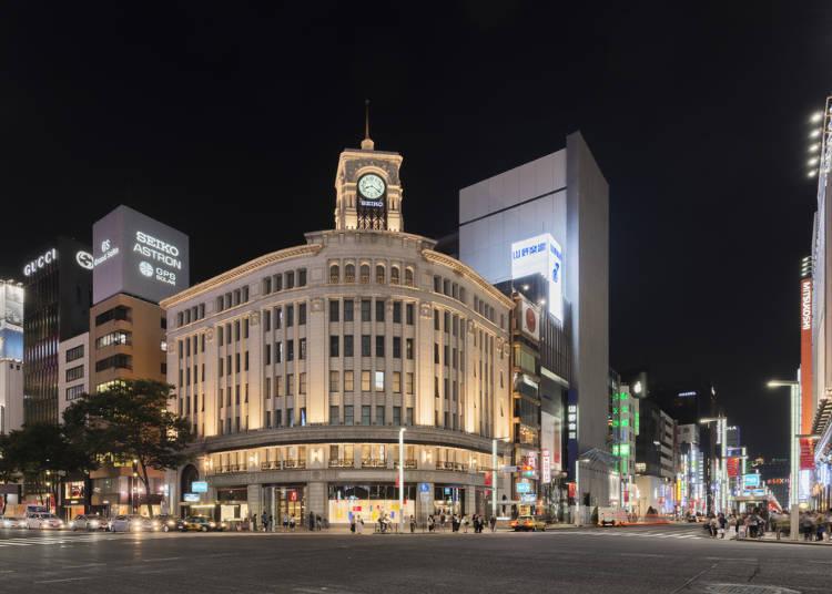 「銀座車站」特色與周邊飯店清單