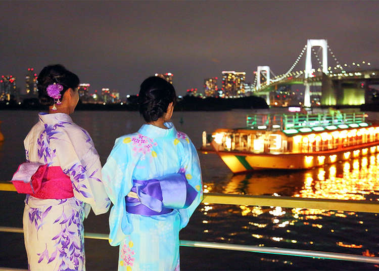 Yakatabune Nights: Spend an Unforgettable   Evening on Tokyo's Top 3 Traditional Houseboats