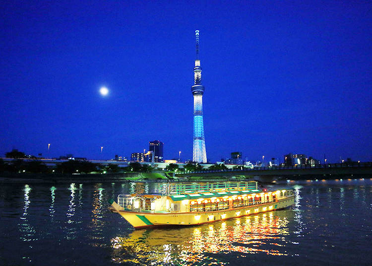 Funasei: Sailing around Odaiba