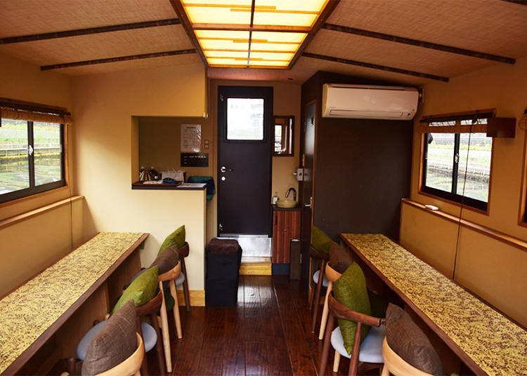 Cozy Interior and a Cool, Open Deck