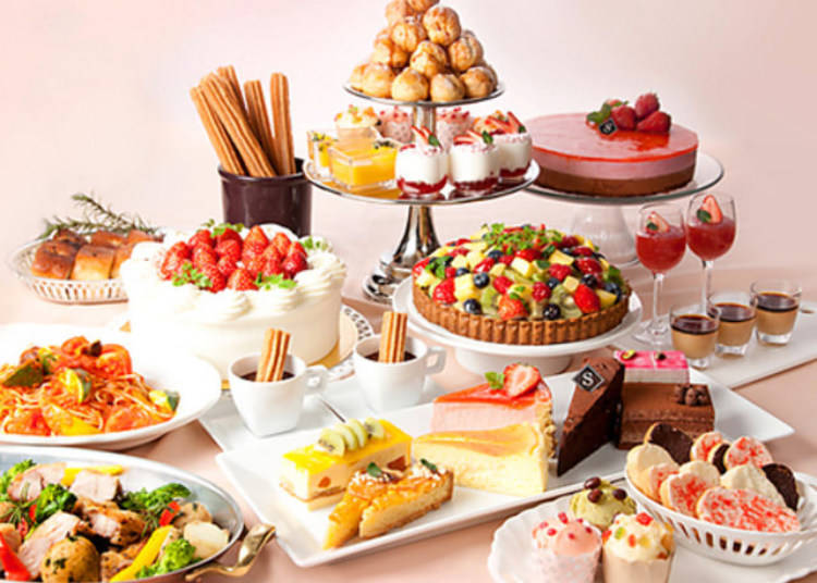 [Oshiage] Salon de Sweets: Tea Party Atmosphere and Dozens of Desserts!