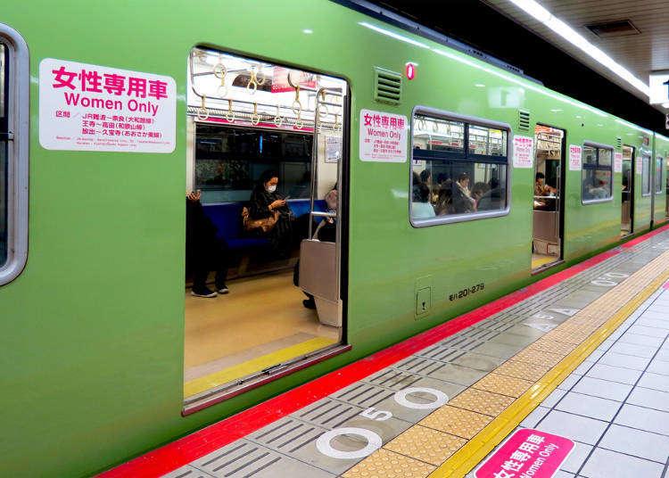 在日本搭電車時你必須注意的12件事