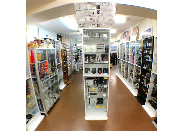 博物館級の品揃え!?喫煙具専門店「Pipe – Museum」