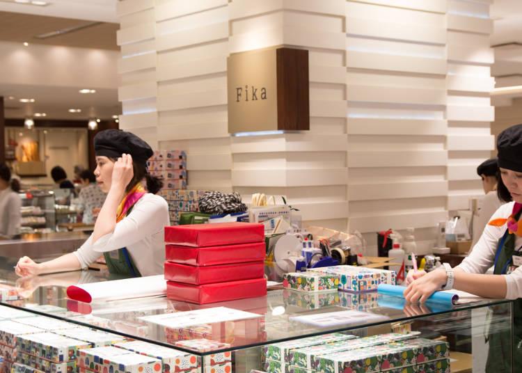 味はもちろん、キュートなパッケージも手土産人気の秘密。「Fika」の「ハッロングロットル」