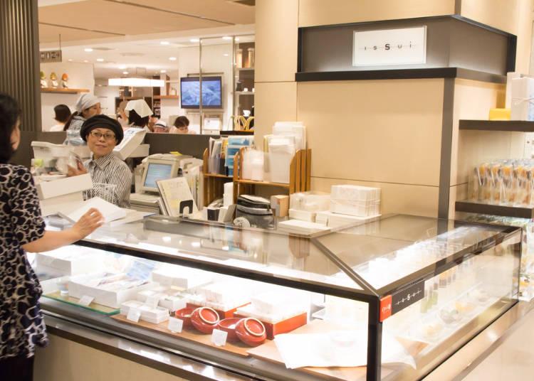 抹茶ミルクの優しい味わいがクセになる!「新宿中村屋 ISSUI」の「素乃雫(そのしずく)」