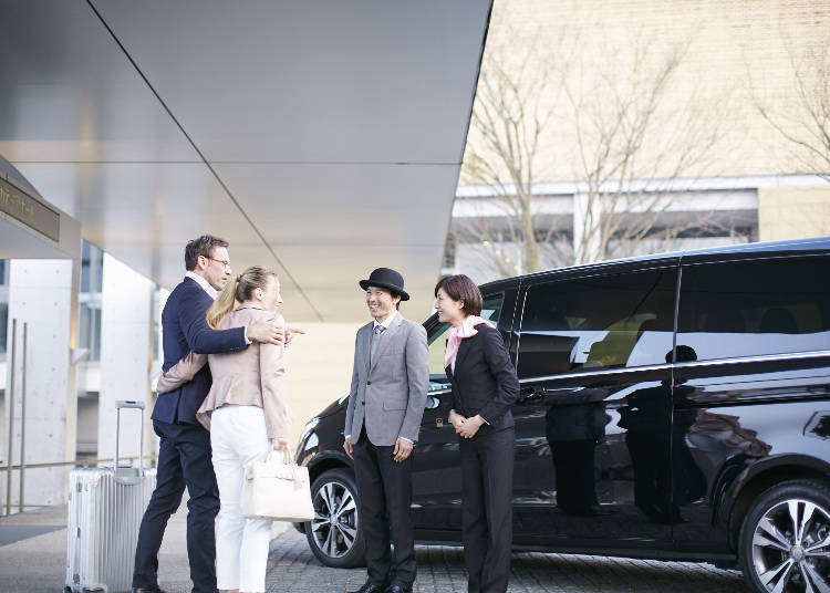 8. Japan Limousine Service: Sightseeing, the Luxurious Way
