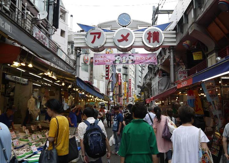 什麼都賣什麼都不奇怪的的上野阿美橫町
