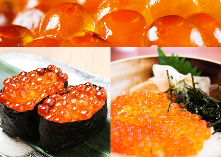 8) Ikura – Salmon Roe