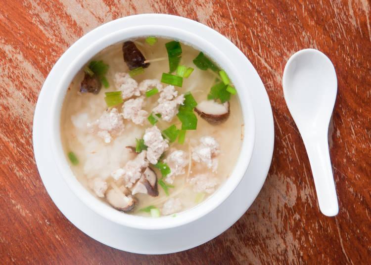 「おかゆ」はアジア圏で良く食べられている