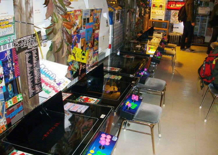 1. Numerous Anime, Game, and Manga Shops