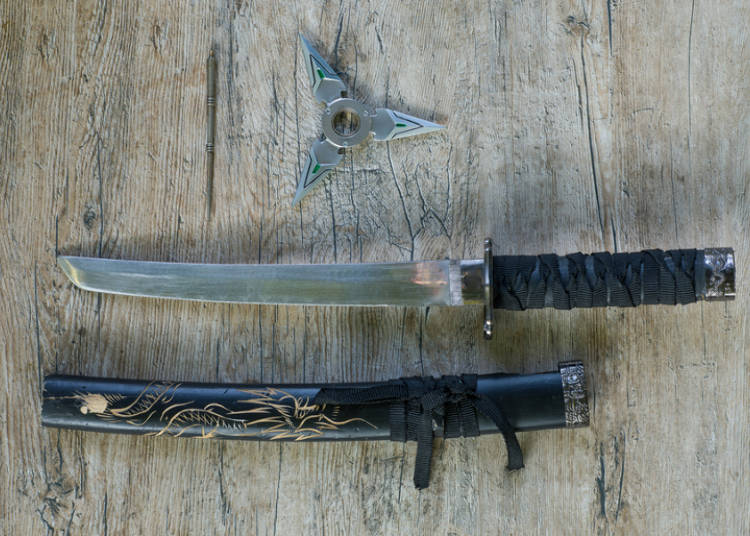 10. Shops that Sell Ninja and Samurai Weapons