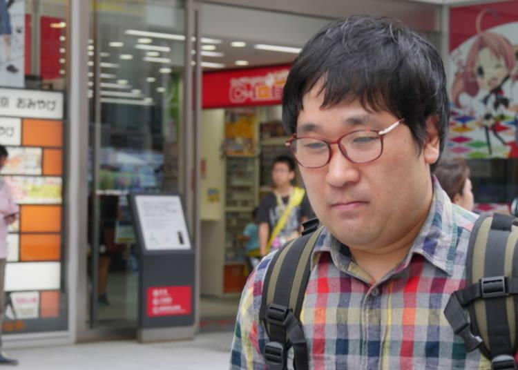 4. Otaku Strolling: Alone, But Not Lonely