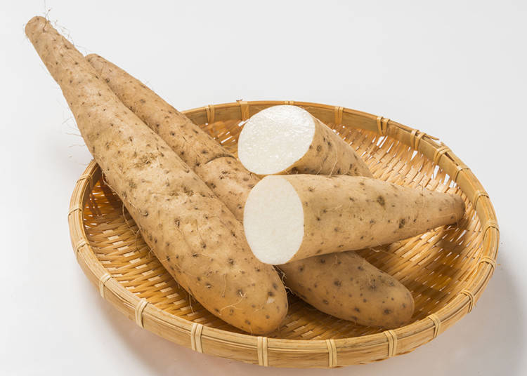 5. Naga-imo: Japanese Mountain Yam