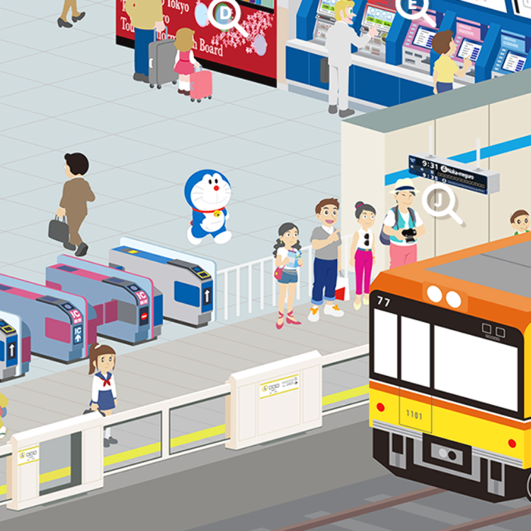 A Robot Cat Gives You Greater Ways to Access Complicated Tokyo Subway