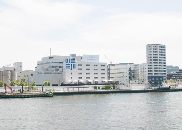 坐落于隅田川河边一座时尚的翻新酒店