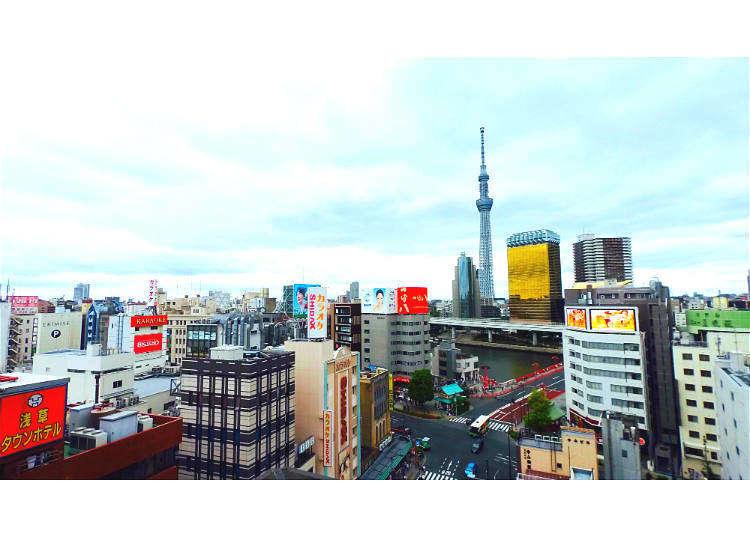 3000日元玩畅玩草晴空塔 一日黄金路线
