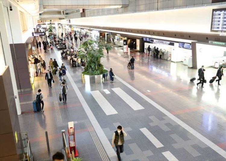 하네다 공항 국내선 국제선 터미널은?