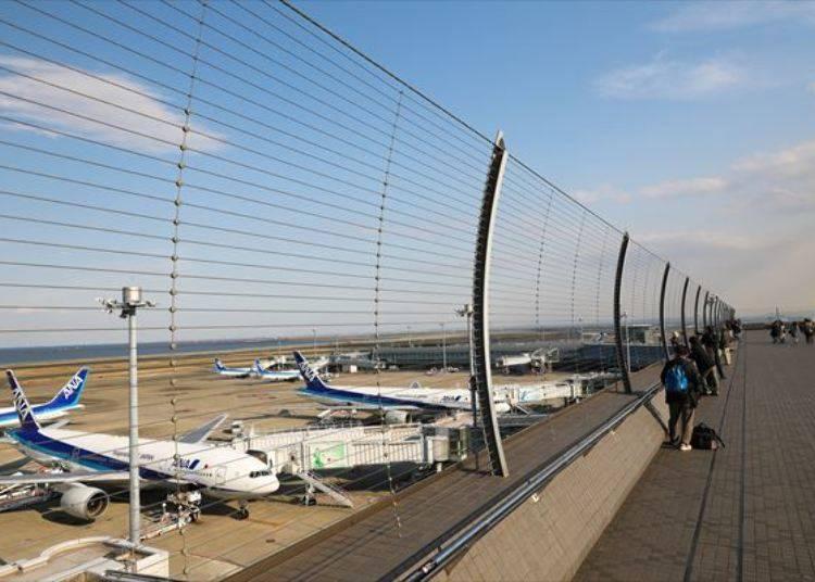 제2여객터미널 야외전망대