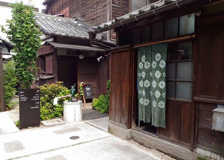 隱身在現代住宅中的古老民家「上野櫻木Atari」