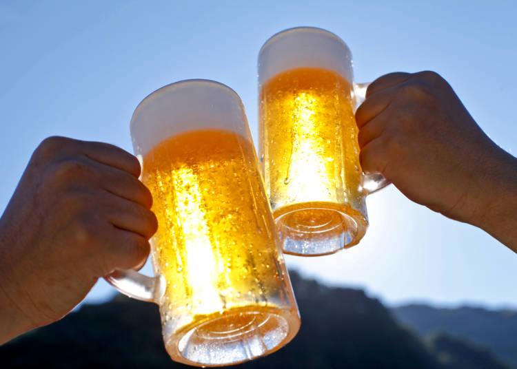 ビールと相性のいいシブいメニューも密かに人気を集めていた…