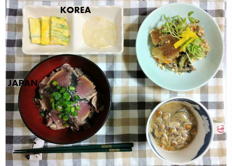 【木曜日】韓国ではあまり知られていない、かつおのたたき