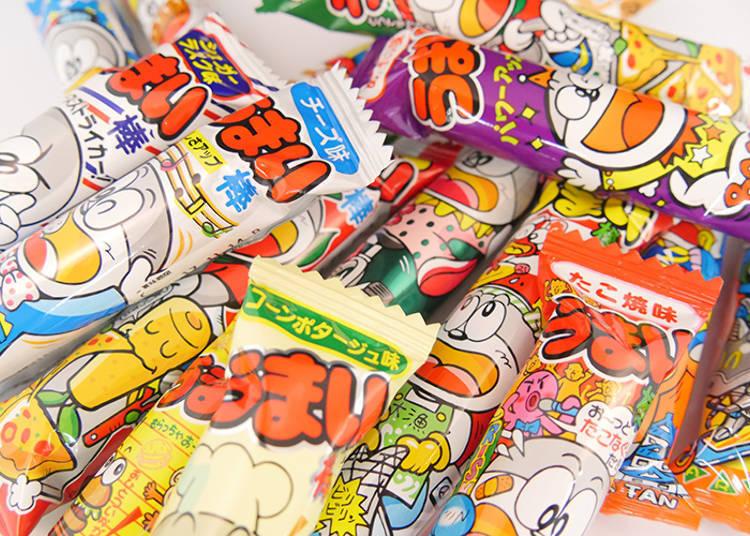 日本人も大好き!人気No.1は駄菓子の代名詞ともいえる、あの棒です!
