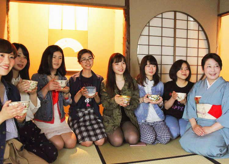 【报告】在银座的正中央,进行正式的茶道体验!
