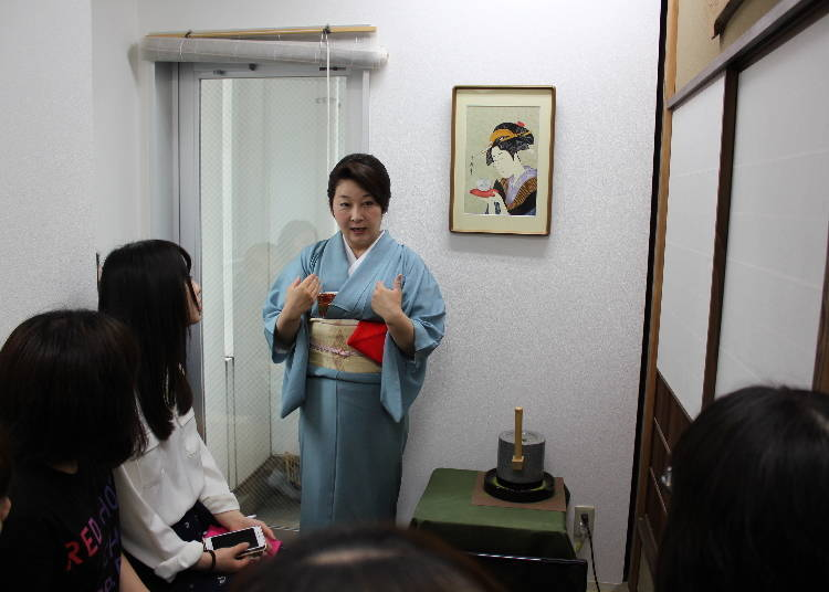 Learning the History and Procedures of the Japanese Tea Ceremony