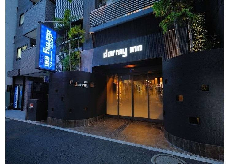 免費拉麵宵夜與大澡堂「Dormy Inn」